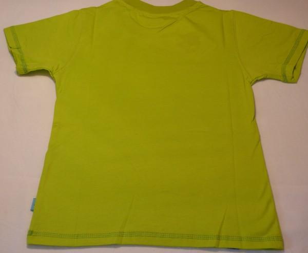 Chlapecké tričko - zvířecí oči,zelené