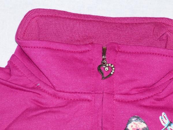Dívčí kojenecká mikina - fialová