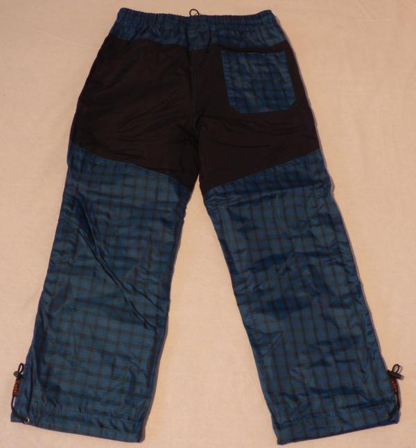 Chlapecké šusťákové kalhoty - modré