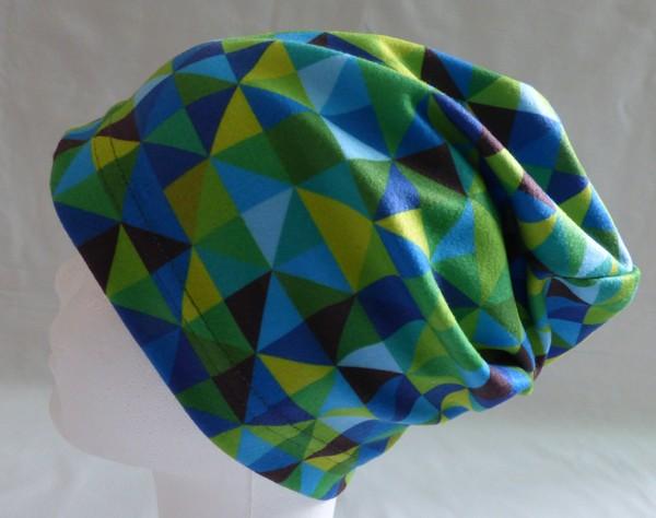 Chlapecká čepice - triangl