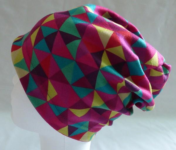 Dívčí čepice - triangl