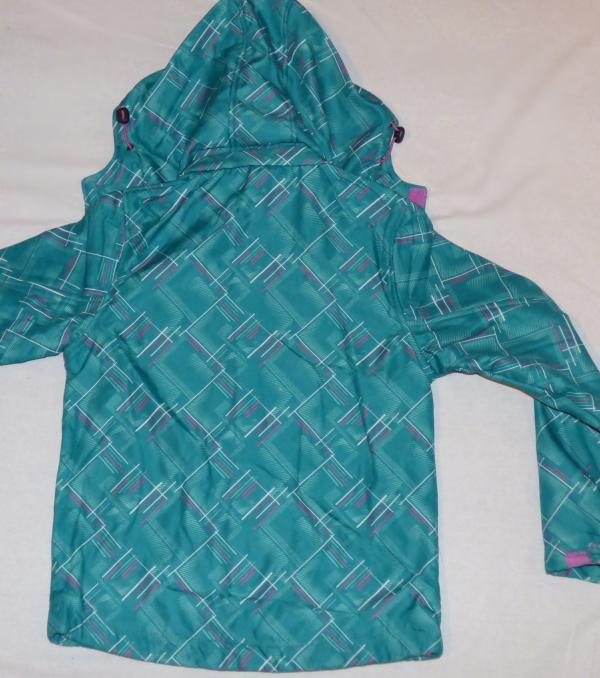 Dívčí bunda - softshell, zelená